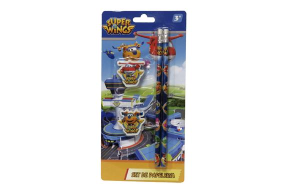 Set de Papelería 4 pcs SuperWings Super Wings