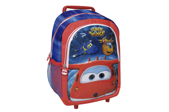 Mochila Trolley 35 cms. SuperWings Super Wings