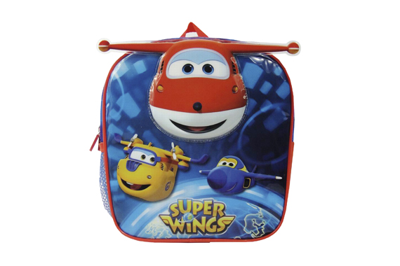 Mochila 24 cms. SuperWings Super Wings