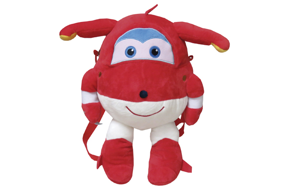 Mochila Peluche 35 cms. Jett SuperWings Super Wings