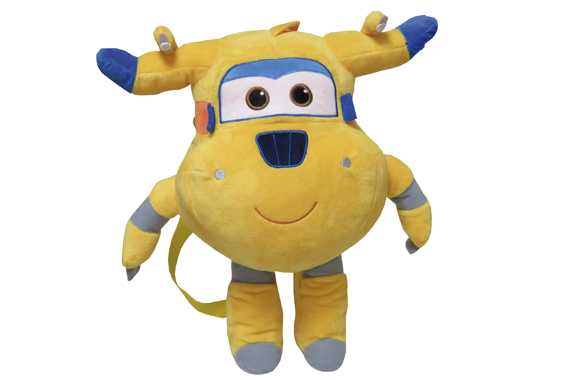 Mochila Peluche 35 cms. Donnie SuperWings Super Wings