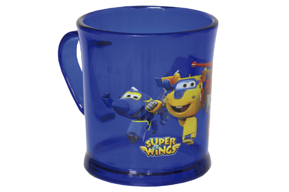 Taza Translúcida SuperWings Super Wings