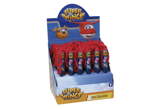 Bolígrafo con Cuerda SuperWings Super Wings