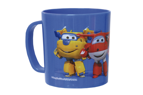Taza de Plástico Microondas SuperWings Super Wings