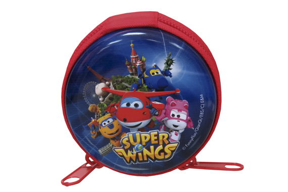 Monedero de Metal Redondo Super Wings Super Wings