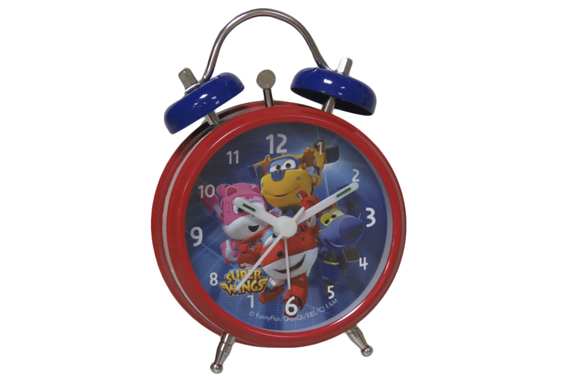 Despertador de Metal Campanas SuperWings Super Wings