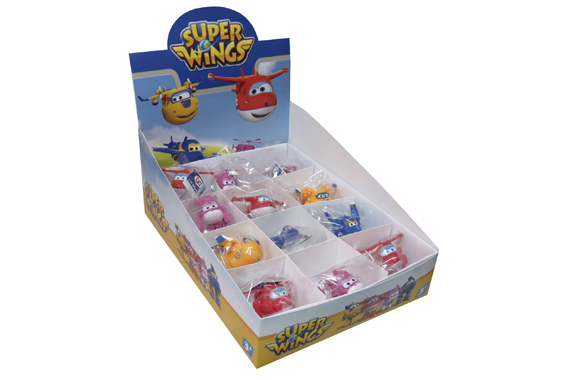 Expositor 24 Figuras SuperWings Super Wings