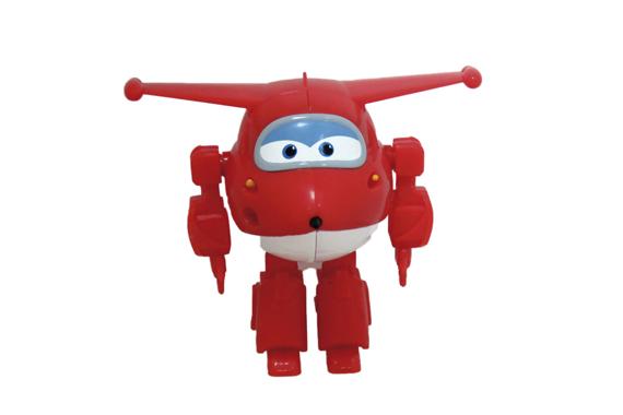Figura Robot Jett SuperWings Super Wings