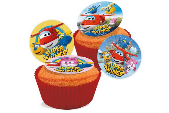 MINI DISCOS COMESTIBLES SUPER WINGS Super Wings