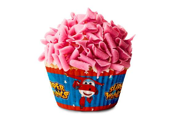 CAPSULAS CUPCAKE Super Wings Super Wings