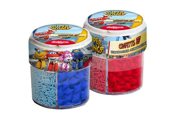 CONFETTI SUPER WINGS