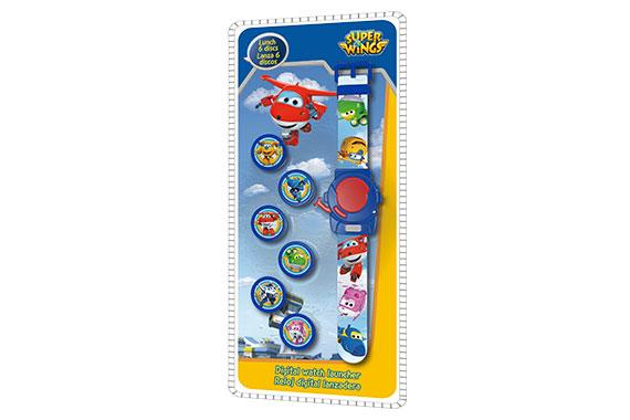 Reloj Digital Lanzadera Super Wings