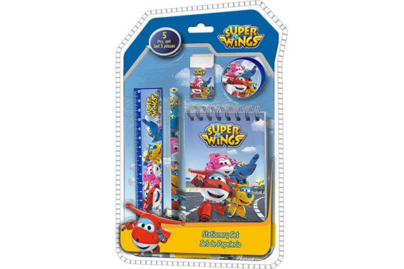 Set de Papeleria Super Wings