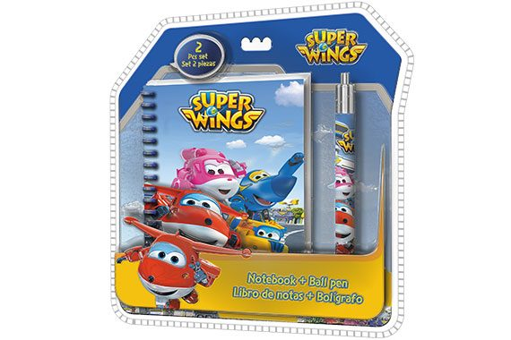 Set de Papeleria Super Wings