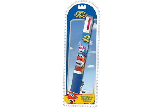 Bolígrafo Jumbo de Colores Super Wings