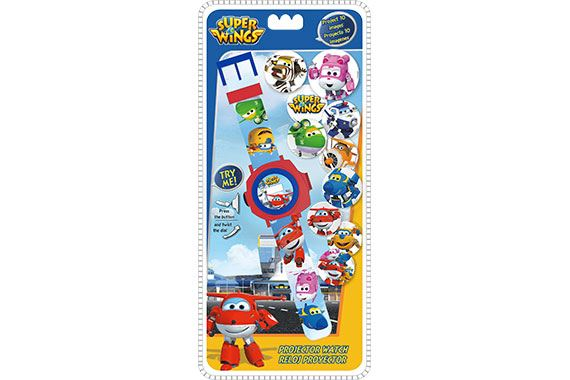 Reloj Digital Proyector Super Wings