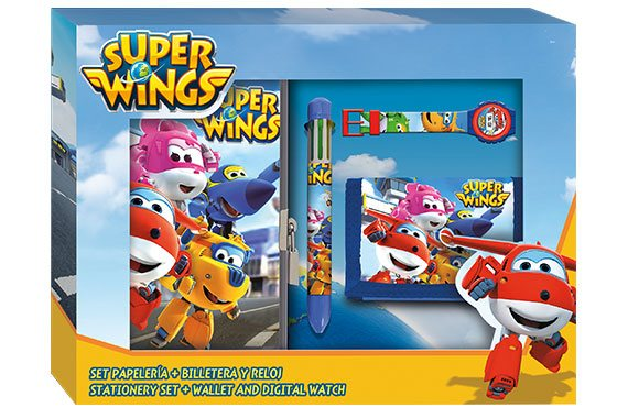 Set Papeleria Super Wings