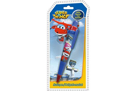 Bolígrafo Musical Super Wings