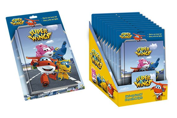 Diario LED Super Wings