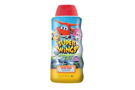 Super Wings Gel de Banho 355ml Super Wings
