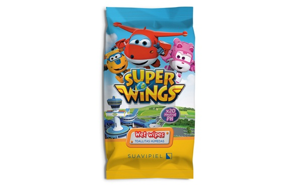 Super Wings toalhitas infantis x20 Super Wings