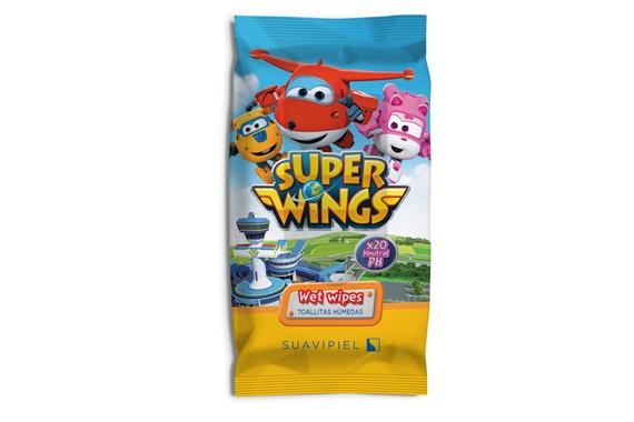 Súper Wings  toallitas infantiles  x20 Super Wings
