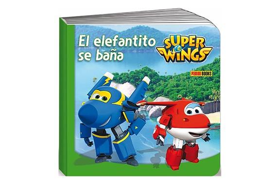 EL ELEFANTITO SE BAÑA Super Wings