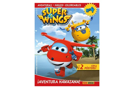 Revista oficial Superwings Super Wings