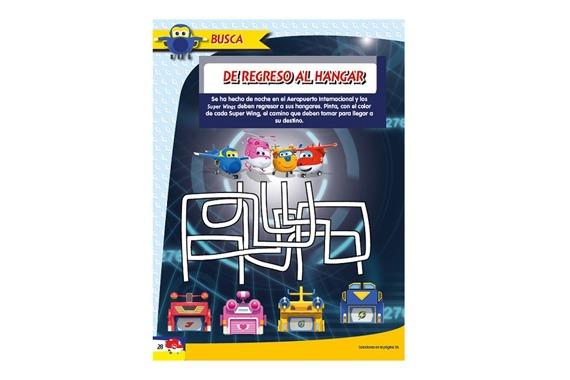 Revista oficial Superwings
