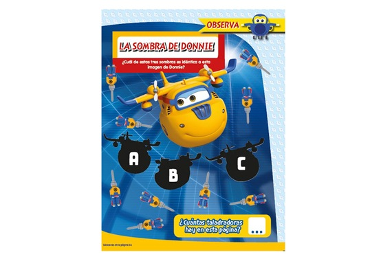 Revista oficial Superwings