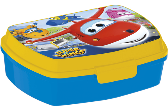 Sandwichera Rectangular Super Wings Super Wings
