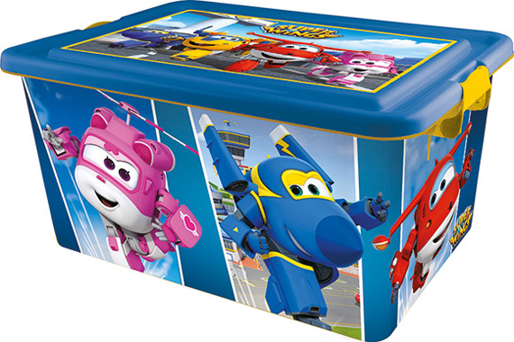 Contenedor 23 L. Super Wings