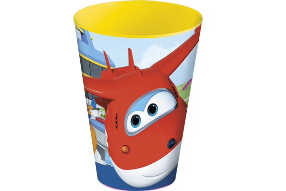Vaso Easy Grande 430 Ml. Super Wings Super Wings