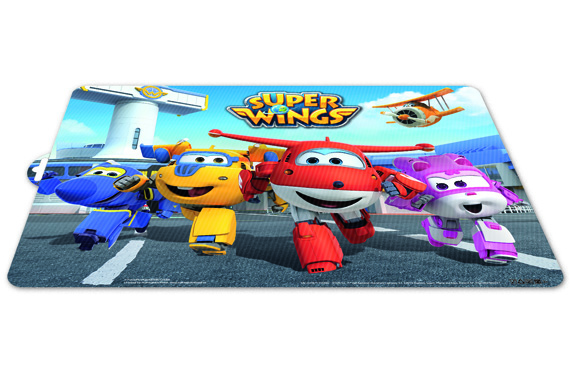Mantel Individual Super Wings Super Wings