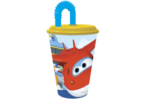 Vaso Caña Easy 430 Ml. Super Wings Super Wings