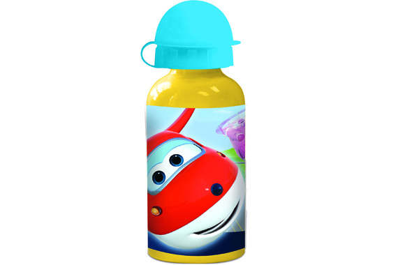 Botella Aluminio Pequeña 400 Ml. Super Wings Super Wings
