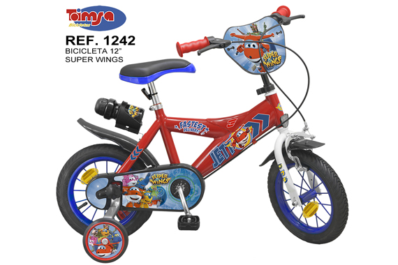 "BICICLETA 12"" SUPER WINGS NIÑO Super Wings"