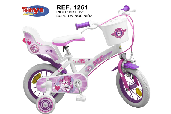 "BICICLETA 12"" SUPER WINGS NIÑA"