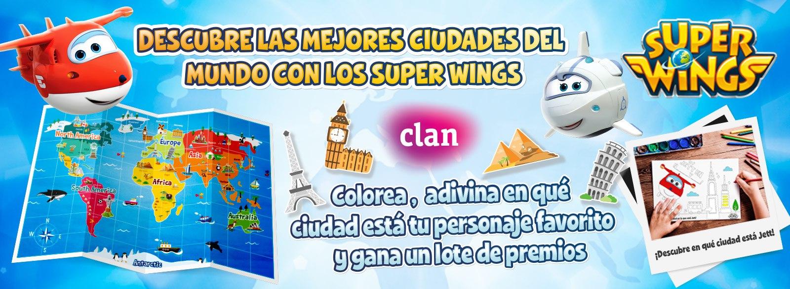 Super Wings Concurso