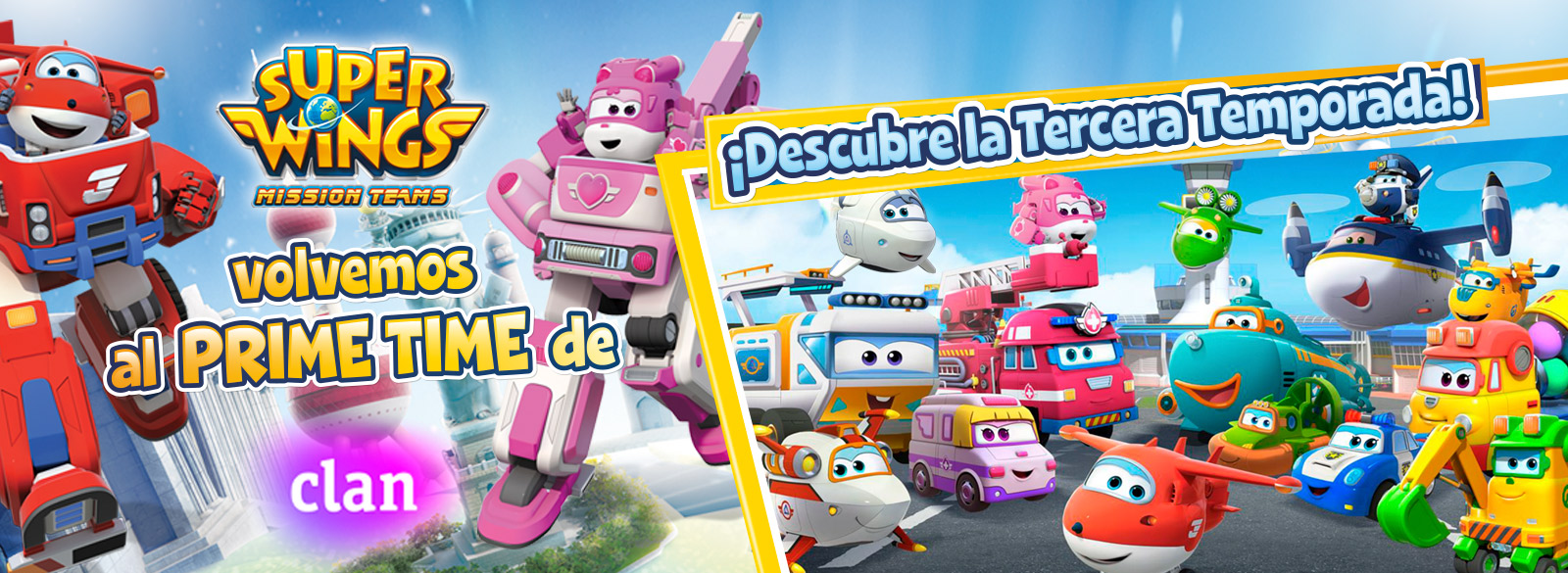 Personajes Super Wings