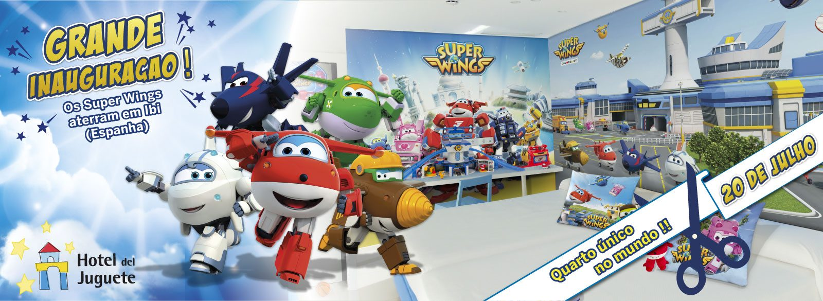 Super Wings Hotel Juguete