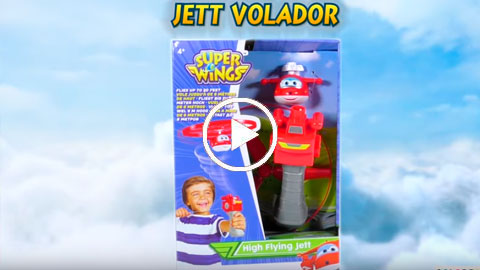 Unboxing Super Wings Jett Volador | COLORBABY